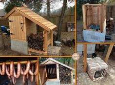 Cedar Smoke House Construction Plan | UsefulDIY.com Follow Us on Facebook ==> http://www.facebook.com/UsefulDiy