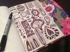 Ideas for #artdaily2015 by Slumbermonkey (Lindsay Buck) https://www.etsy.com/uk/shop/Slumbermonkey