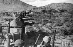 After their quick conquest of Ethiopia, Italy had short time to enjoy their spoils. As World War II consumed the globe, Italy made a vain attempt to expand into the British East Africanpossessions. Although they briefly overran British Somaliland in late summer of 1940, the allied forces soon regrouped and began pushing back against the Italians, who were too far removed for the Germanassistancethat saved them - for a time - in North Africa or the Balkans.