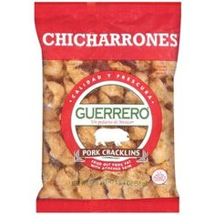 Satisfying that craving for authentic Mexican taste is easy. With Guerrero® Chicharrónes all you have to do is add a little of the red salsa that comes with them, and start enjoying the crunchy pork rind taste, Mexican style.