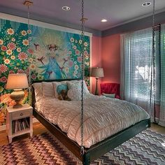 Fresh And Youthful – 10 Gorgeous Teen Girls' Bedroom Design .- Fresh And Youthful – 10 Gorgeous Teen Girls' Bedroom Design Ideas Fresh And Youthful – 10 Gorgeous Teen Girls& Bedroom Design Ideas - Cool Bedrooms For Teen Girls, Awesome Bedrooms, Teen Bedroom, Cool Rooms, Bedroom Decor, Bedroom Ideas, Bedroom Themes, Tween Girls, Bedroom Small
