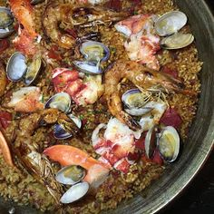 Recent Foodie Finds including this beautiful seafood paella at Salero in Chicago's West Loop!