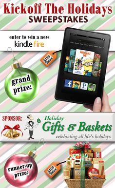 Win a Kindle Fire!
