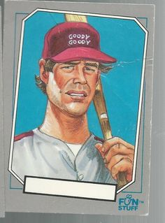 Dale Murphy #60 Confex Baseball Enquirer Cards Parody 1992 Fun Stuff #unknown
