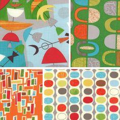 Jenn Ski: My new abstract fabric!