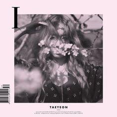 "TAEYEON ""I"" album cover (full size). Girls Generation, Girls' Generation Taeyeon, Mini Albums, Best Albums, Cd Design, Album Cover Design, Graphic Design, Cool Album Covers, Music Album Covers"