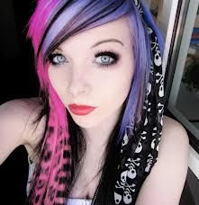 emo girl hair - Google Search