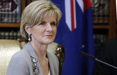 Julie Bishop - AFP PHOTO/ Sabah Arar