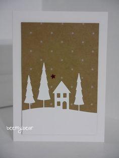 Stampin with Beemybear: Weihnachtskarte, die 2.