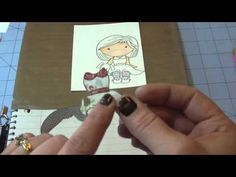 How to Paper Piece your Digi images