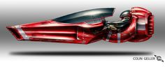 Stryder by MeckanicalMind Side-on spaceship Hover Car, Hover Bike, Spaceship Art, Spaceship Design, Spaceship Concept, Futuristic Motorcycle, Futuristic Cars, Concept Ships, Concept Cars