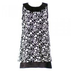 Sweet Kids Girls Black Sequined Dot Easter Flower Girl Dress 4-16
