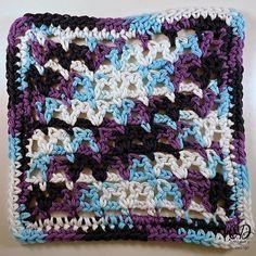 Victoria Dishcloth | AllFreeCrochet.com