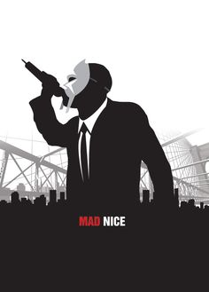 MF DOOM MAD MEN COLLABO! #mfdoom #madmen #dribbble #ponscreative