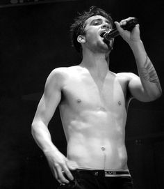 at every concert brendon urie about half way into the concert he takes his shirt off which is why I want to go to one of his concerts sooo bad @Lydia Smolinski