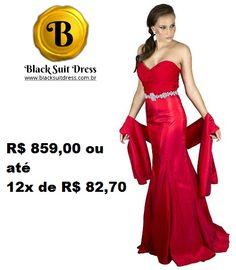 COMPRE: http://blacksuitdress.com.br/vestido-de-festa/vestido-de-festa-longo-vermelho-sereia-tomara-que-caia-84.html