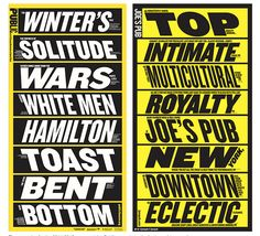 It's Nice That : Paula Scher returns to NYC's Public Theater graphics with new campaign