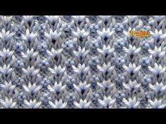 Quick And Easy Crochet Blanket Patterns For Beginners - Lina Knitting Stiches, Knitting Videos, Knitting For Beginners, Baby Knitting, Crochet Motifs, Crochet Dishcloths, Crochet Stitches, Knitting Patterns, Crochet Patterns