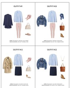The Essential Capsule Wardrobe - Spring 2018 Collection - outfits