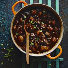 Italian-spiced venison casserole, a delicious recipe from the new M&S app.
