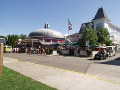 Don't pass up the Round House Bar, 140 years old in 2013! Downtown Put-in-Bay. South Bass Island, Lake Erie