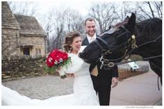 Winter horse drawn carriage ride via Michigan Wedding Photographers, Silver Thumb Photography, silverthumbphoto.com, Greenfield Village, Detroit Wedding Photographer http://silverthumbphoto.com/blog/best-of-2014/
