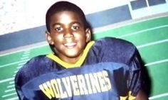 Trayvon Martin a young athlete