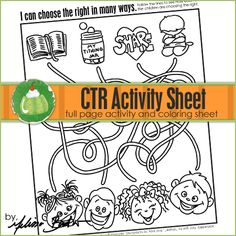 CTR Line Activity Printable Page