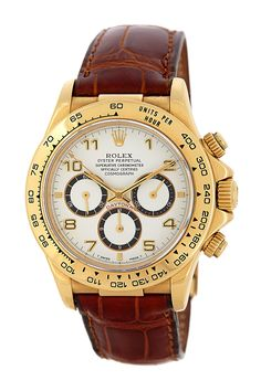 Rolex Men's/Unisex Cosmograph Daytona 18K Yellow Gold Watch