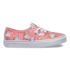 c2ca3456e3500b VANS Youth Authentic Toy Story Woody Bo PEEP Pink White Skate Shoes  Vn0a32r6lu3 2