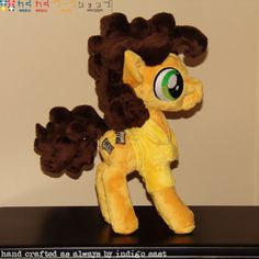 My Little Pony (MLP FIM) Inspired: Cheese Sandwich (as voiced by Weird Al Yankovic) Plushie on Etsy, $95.00