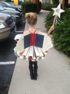 book fairy costume. @Brittney Anderson Anderson Patricia