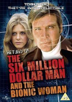 1970s Tv Shows, Old Tv Shows, Steve Austin, Radio E Tv, Mejores Series Tv, Lee Majors, Million Men, Marvin, Bionic Woman