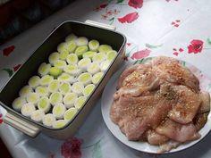 piersi_z_kurczaka_zapiekane_na_porach - Piersi z kurczaka zapiekane na porach