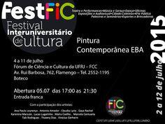 """Agenda Cultural RJ: Exposição coletiva """"Pintura Contemporânea EBA"""" no ..."""