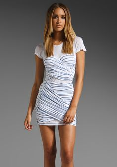 $138 STYLE STALKER Belle De Jour Dress in Navy/White at Revolve Clothing - Free Shipping!