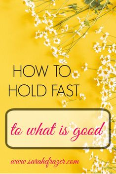 Do you hold fast to God's goodness, even when times are hard? Discover how to trust God's faithfulness and celebrate God's goodness, even in moments of suffering. || Sarah E. Frazer #trustgod #hope #faith #sarahefrazer