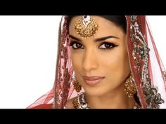 ▶ 100 Years Of Bollywood - Modern Day 'Devdas Inspired' Makeup Look - YouTube - Bollywood Beauty
