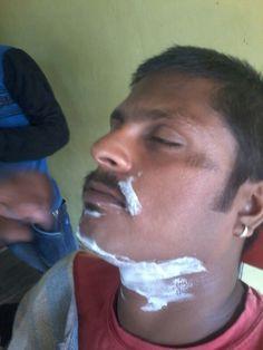 Amazing shaving in world