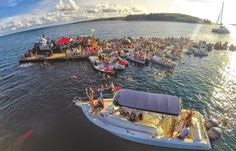 Grenada, home to aromatic spices, lush jungles, and one of the most unusual and entertaining monthly events: The Dinghy Concert