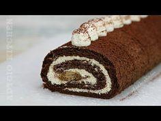 Rulada Tiramisu cu mascarpone , piscoturi insiropate si blat cu cafea - YouTube Tiramisu, Romanian Food, Homemade Cakes, Something Sweet, Cake Recipes, Rolls, Cupcakes, Sweets, Cookies