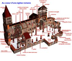Ecosia - the search engine that plants trees Roman Architecture, Church Architecture, Architecture Romaine, Romanesque Art, Art Roman, Minecraft Projects, 11th Century, Chapelle, Ancient Romans