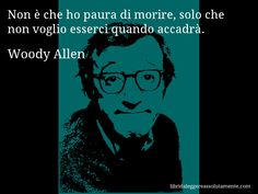 Cartolina con aforisma di Woody Allen (32)