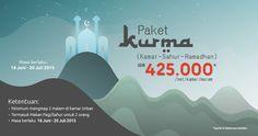 Cari hotel yang menyediakan sahur? THE BnB Jakarta Kelapa Gading saja. Ada harga khusus selama Ramadhan, juga