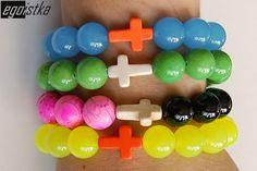 #handmade #color #cross #krzyż #bransoletka
