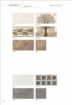 Millennium Tiles 300x600mm (12x24) Digital #Ceramic Wall #Tiles Satin Finish Series  - 3426_L - 3426_HL2A - 3426_HL1 - 3426_HL2B - 3426_D - 3426_F - 3430_L - 3430_HL1 - 3430_D - 3424_F  - Six Colour Technology: This six colour digital colour printing process uses CMYK inks plus a lighter shade of cyan (LC) and magenta (LM) to create more realistic tiles. - HD Technology: High-definition technology (HDT) provides a resolution that is substantially higher that of standard-definition tiles.