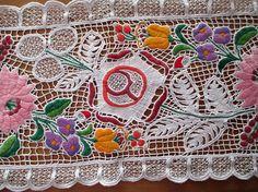 270. Richelieu lace embroidery/Hungarian richelieu hand