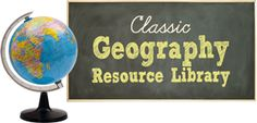 Classic Geography Resource Library - this new geography collection will mesh beautifully with your classical education plans, expanding their learning with all kinds of new possibilities that are ready-to-use today!