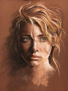 Portrait Drawing Pastel portraitlovely little girl VYG t Retrato Pastelitos y Soft Pastel Art, Pastel Artwork, Pastel Drawing, Painting & Drawing, Soft Pastels, Pastel Paintings, Pastel Colors, Pencil Portrait, Portrait Art