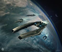 Banu Defender - Star Citizen on Behance